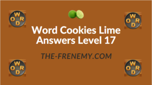 Word Cookies Lime Answers Level 17