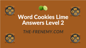 Word Cookies Lime Answers Level 2