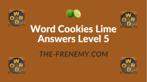 Word Cookies Lime Answers Level 5