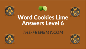 Word Cookies Lime Answers Level 6