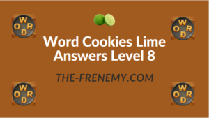 Word Cookies Lime Answers Level 8