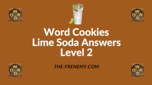 Word Cookies Lime Soda Answers Level 2