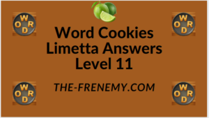 Word Cookies Limetta Level 11 Answers