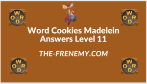 Word Cookies Madelein Level 11 Answers