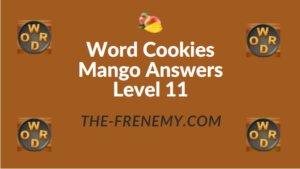Word Cookies Mango Answers Level 11