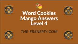 Word Cookies Mango Answers Level 4