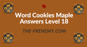 Word Cookies Maple Answers Level 18