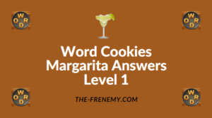 Word Cookies Margarita Answers Level 1