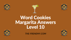 Word Cookies Margarita Answers Level 10