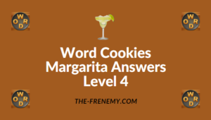 Word Cookies Margarita Answers Level 4