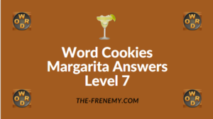 Word Cookies Margarita Answers Level 7