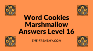 Word Cookies Marshmallow Level 16 Answers