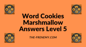 Word Cookies Marshmallow Level 5 Answers