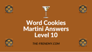 Word Cookies Martini Answers Level 10