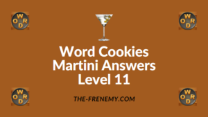 Word Cookies Martini Answers Level 11