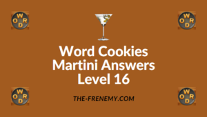 Word Cookies Martini Answers Level 16