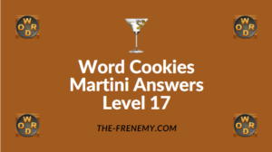 Word Cookies Martini Answers Level 17