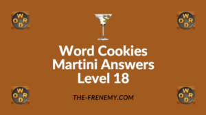 Word Cookies Martini Answers Level 18