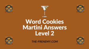 Word Cookies Martini Answers Level 2