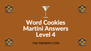 Word Cookies Martini Answers Level 4