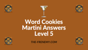 Word Cookies Martini Answers Level 5