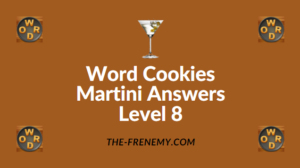 Word Cookies Martini Answers Level 8
