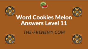 Word Cookies Melon Answers Level 11