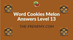 Word Cookies Melon Answers Level 13