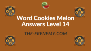 Word Cookies Melon Answers Level 14