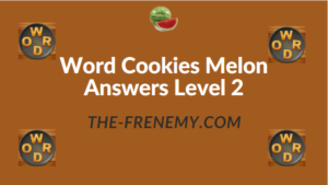 Word Cookies Melon Answers Level 2