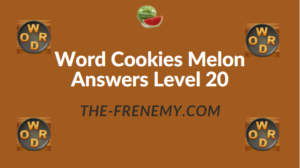 Word Cookies Melon Answers Level 20