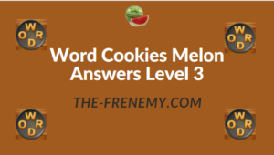 Word Cookies Melon Answers Level 3