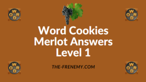 Word Cookies Merlot Answers Level 1