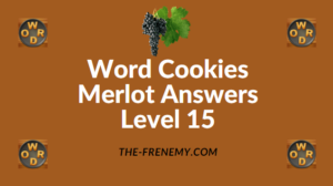 Word Cookies Merlot Answers Level 15