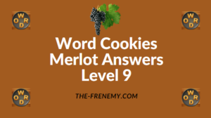 Word Cookies Merlot Answers Level 9
