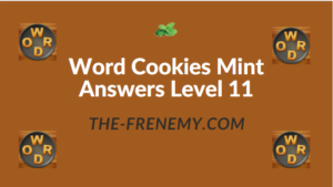 Word Cookies Mint Answers Level 11