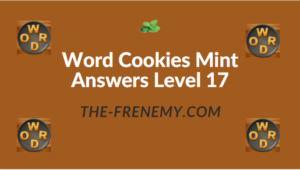 Word Cookies Mint Answers Level 17