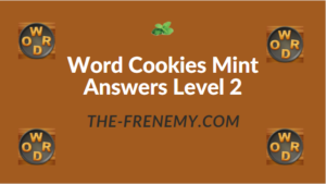 Word Cookies Mint Answers Level 2