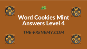 Word Cookies Mint Answers Level 4