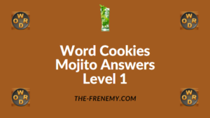 Word Cookies Mojito Answers Level 1