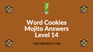 Word Cookies Mojito Answers Level 14