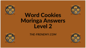 Word Cookies Moringa Level 2 Answers