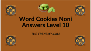 Word Cookies Noni Level 10 Answers