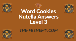 Word Cookies Nutella Answers Level 3