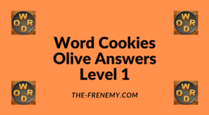 Word Cookies Olive Level 1 Answers
