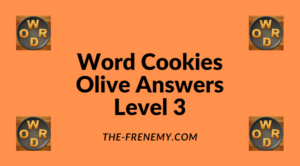 Word Cookies Olive Level 3 Answers