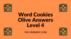 Word Cookies Olive Level 4 Answers