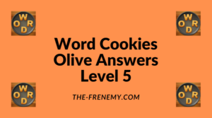 Word Cookies Olive Level 5 Answers