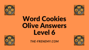 Word Cookies Olive Level 6 Answers