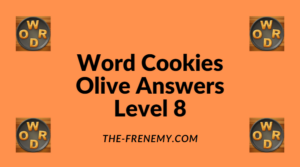 Word Cookies Olive Level 8 Answers